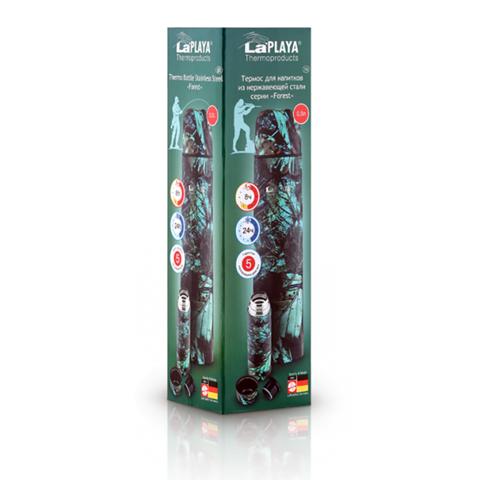 Термос LaPlaya Thermo Bottle Forest (0,5 литра), камуфляжный