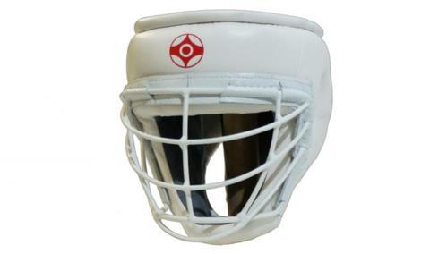 Шлем киокушинкай с металлической маской