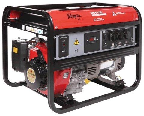 Кожух для бензиновой электростанции Fubag MS 5700