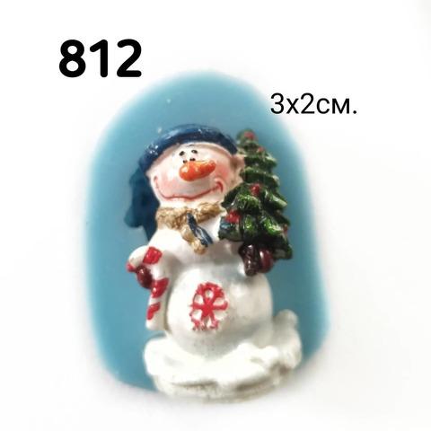 Молд снеговик