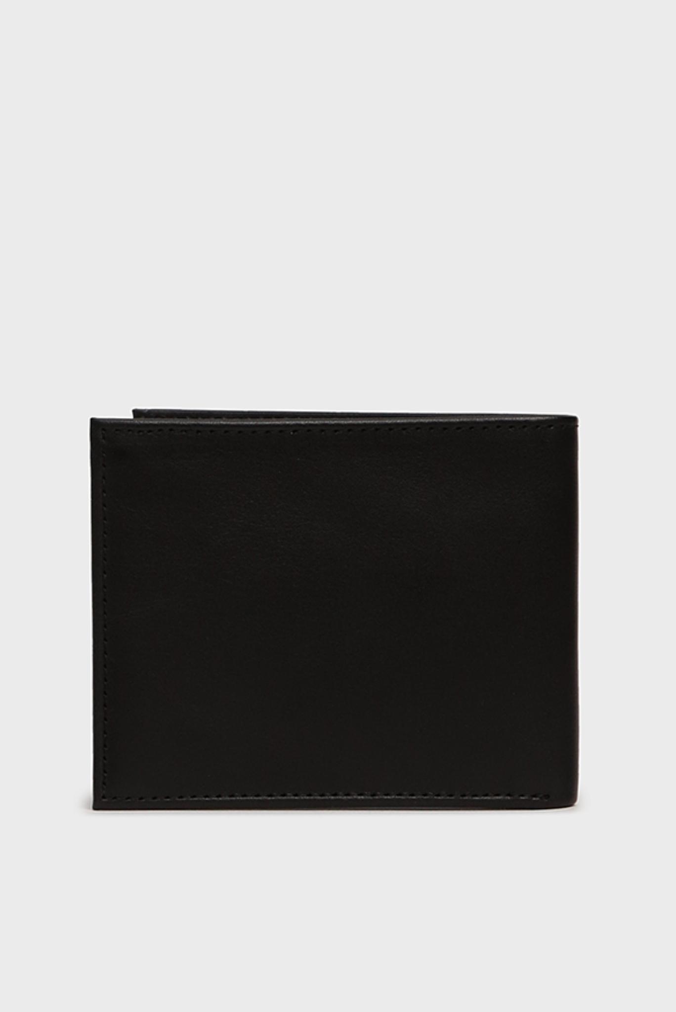 Мужской черный кожаный кошелек MODERN MINI Tommy Hilfiger