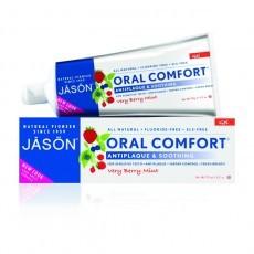 Jason Уход за полостью рта: Гелевая зубная паста с коэнзимом Q10 (Oral Comfort), 119гр