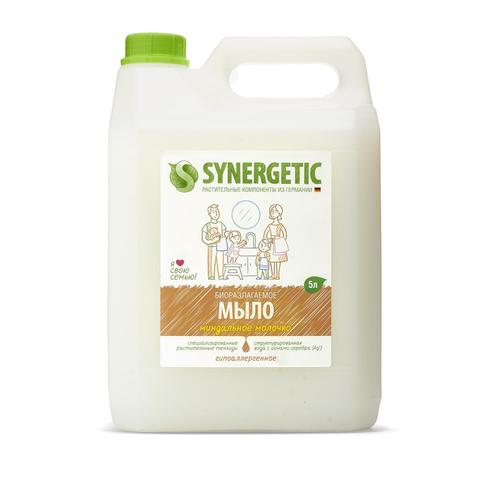 Мыло жидкое Synergetic Миндальное молочко 5л