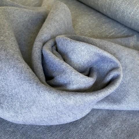 кашемир серый итальянский для пальто