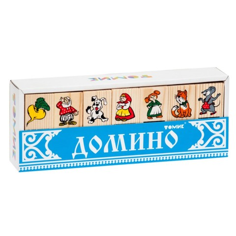 Детское домино сказка Репка Томик арт. 5555-6
