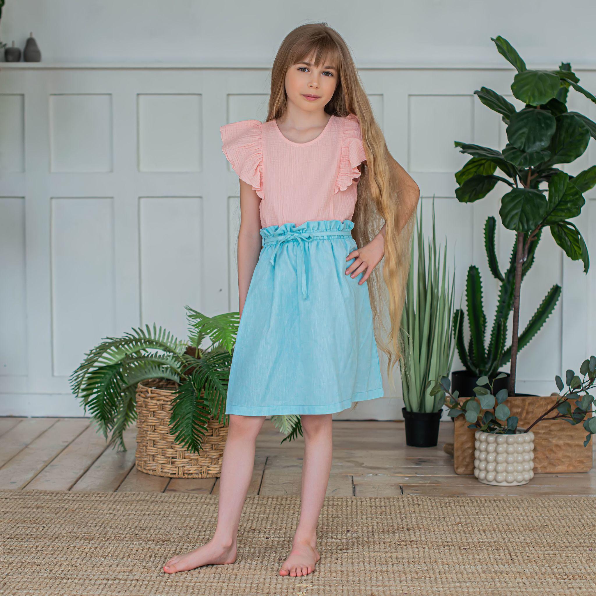 Cotton skirt for teens - Tiffany