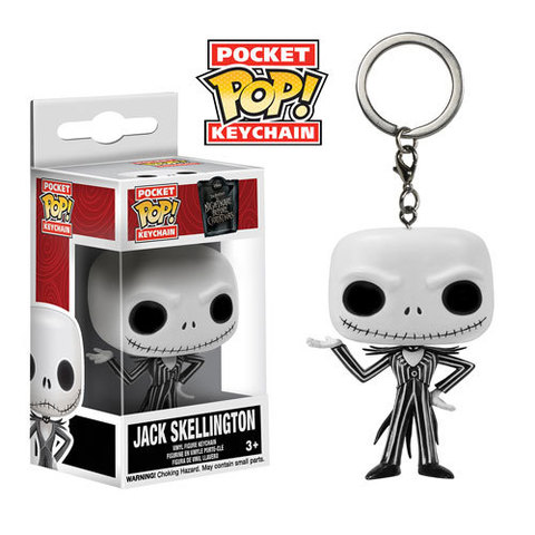 Брелок Джек Скеллингтон || POP! Keychain Jack Skellington