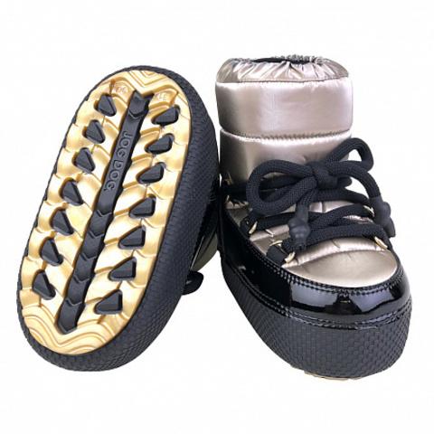 Jog Dog зимние сапоги луноходы - дутики LUNAR WALKER  (золотой флэш) для девочки