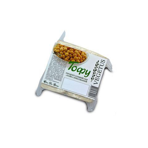 Тофу прессованый без добавок, Vegetus, 250 гр.