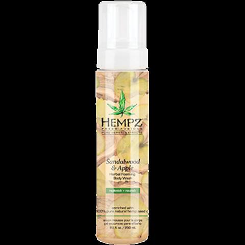 Гель-мусс для душа Сандал и Яблоко / Hempz Sandalwood & Apple Herbal Foaming Body Wash