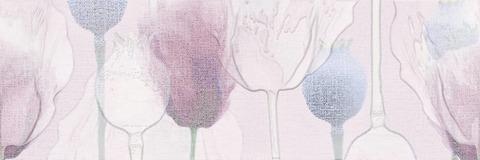 Cersanit Lila Вставка цветы розовый (LL2U071DT) 250x750