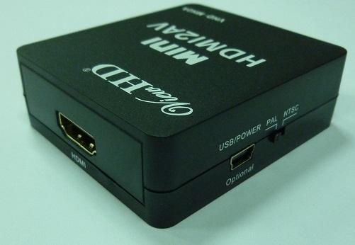 HDMI to AV конвертер цифровой разъём