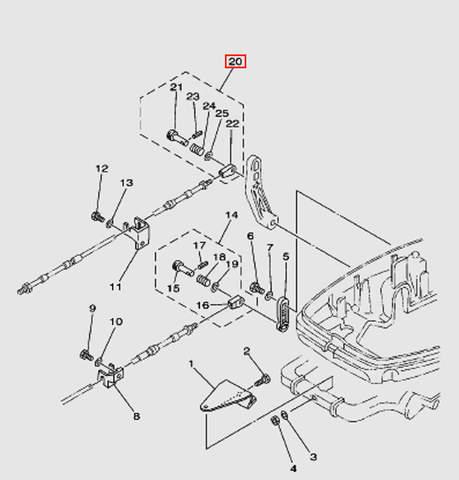 Набор для подключения троса ДУ1 Т30EР (13-20W)
