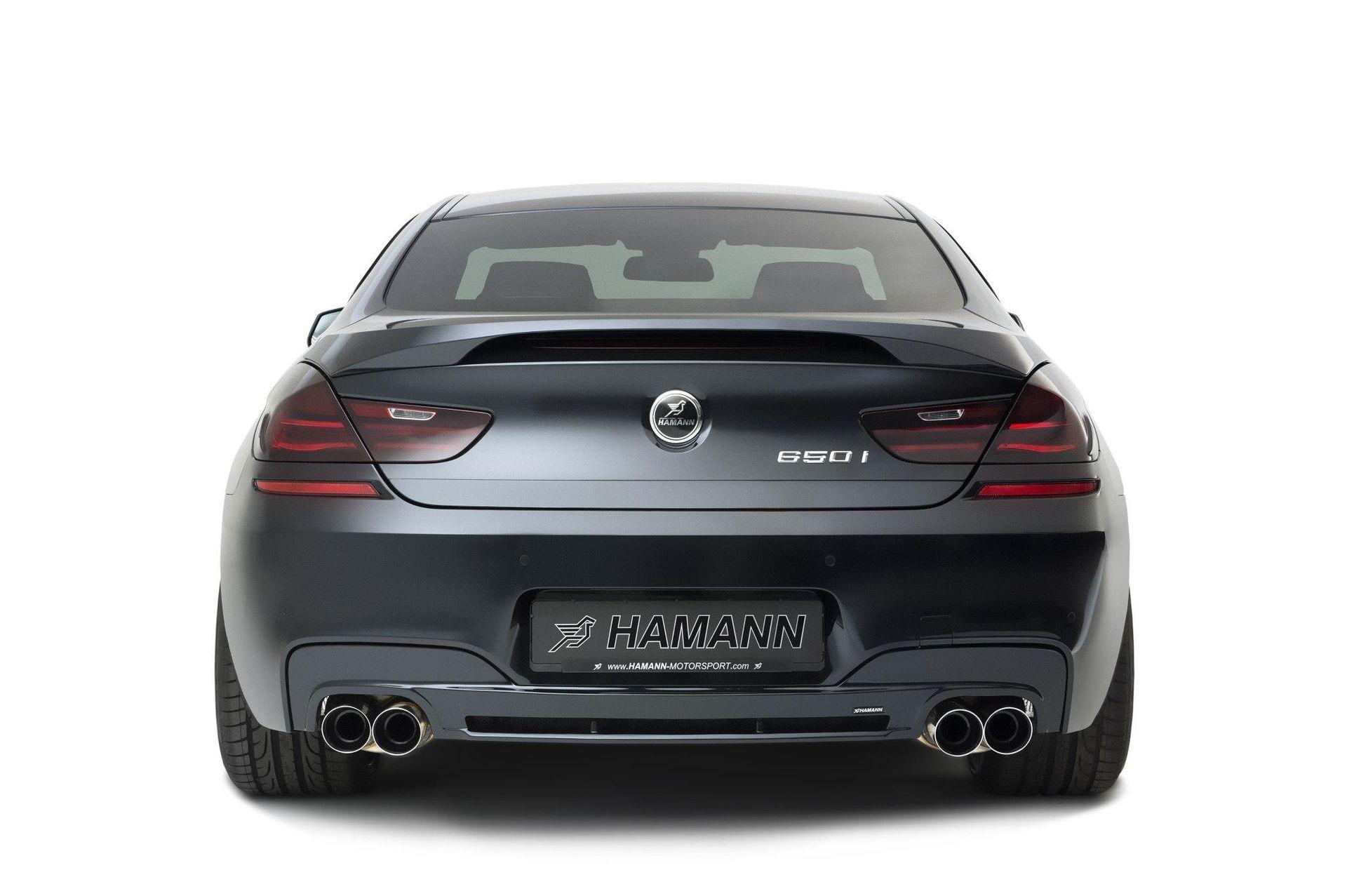 Карбоновый спойлер на багажник Hamman Style для BMW 6er