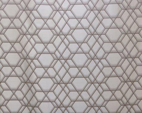 Портьерная ткань Реалити коричневый