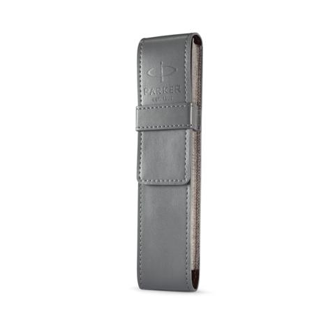 Набор с чехлом: Ручка роллер и Шариковая ручка Parker IM Core Black GT123
