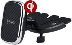 Автомобильный держатель Pitaka New MagMount QI CD Slot CMD3001Q (Black