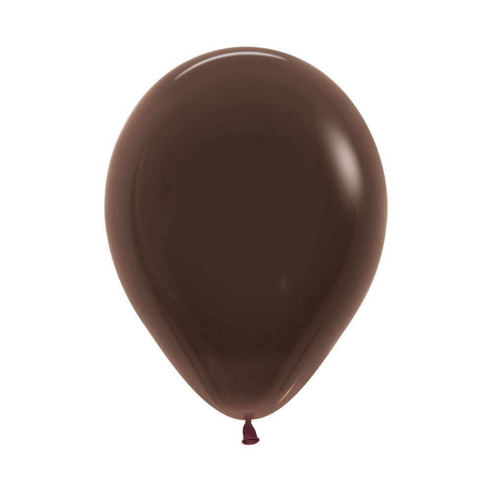 Латексный воздушный шар, цвет шоколадный пастель