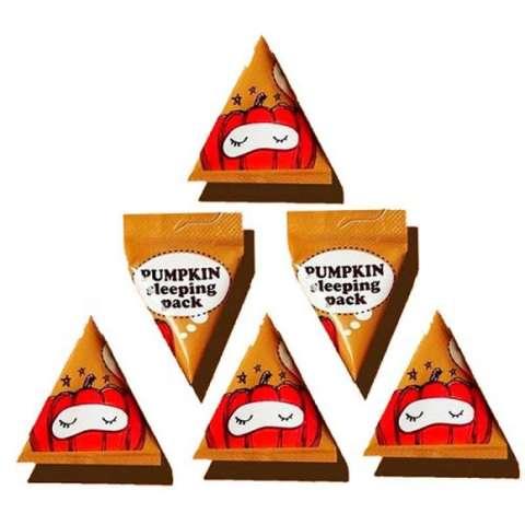 TOO COOL FOR SCHOOL Ночная маска с тыквой в пирамидке Pumpkin Sleeping Pack 1 шт.