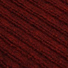 Коврик влаговпитывающий, ребристый, красный, 60*90 см