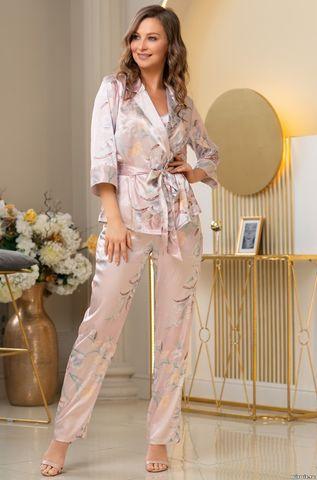 Шелковая пижама-тройка Mia Amore Милинда (70% нат.шелк)