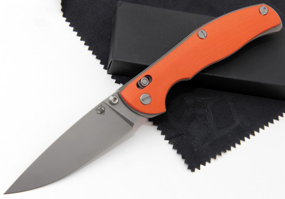 Нож Широгоров Табарган 100NS S90V G10 3D оранж