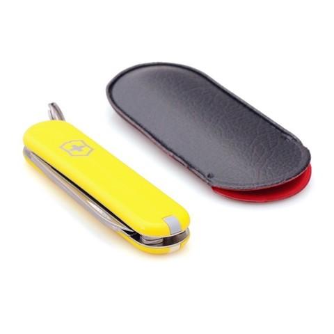 Нож-брелок Victorinox Classic, 58 мм, 7 функций, желтый
