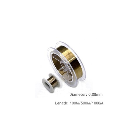 Line Wire Gold 0.04mm 500M MOQ:50
