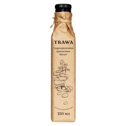 TRAWA, Масло сыродавленное арахисовое, 250мл
