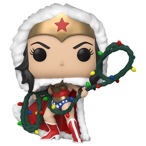 Фигурка Funko POP! Vinyl: DC: Holiday: Wonder Women w/Lights Lasso 50652