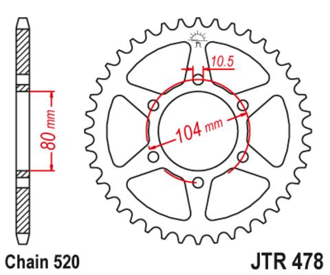 JTR478