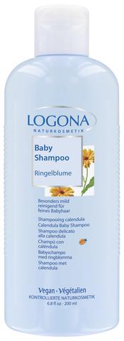 LOGONA Шампунь для младенцев с календулой