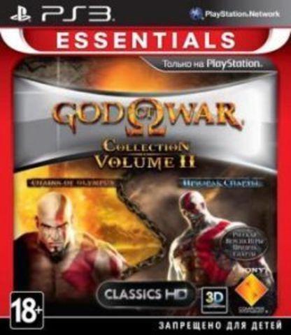 God of War Collection 2 (PS3, английская версия)