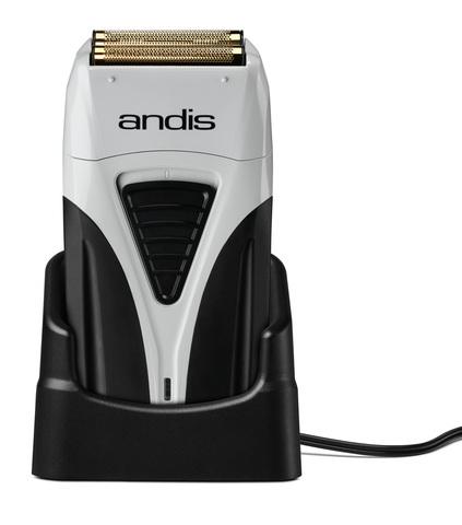 Шейвер Andis TS-2  для бороды, аккум/сетевой, 10 Вт, серебристый