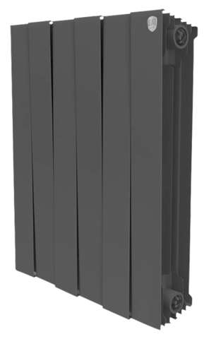 RoyalThermo PianoForte 500 Noir Sable, 4 секции - радиатор биметаллический