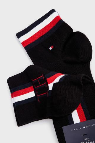 Мужские черные носки (2 пары) Tommy Hilfiger
