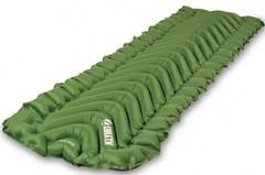 Коврик надувной Klymit Static V pad зеленый 06SVGr02C