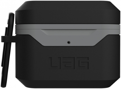 Чехол с карабином Urban Armor Gear (UAG) Standard Issue Hard Case_001 для AirPods Pro, цвет Черный/Серый