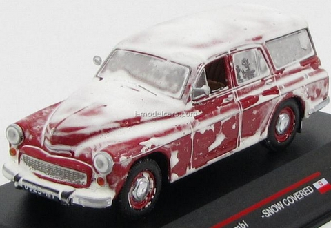 Warszawa 203 Kombi snow covered 1960 IST186 IST Models 1:43