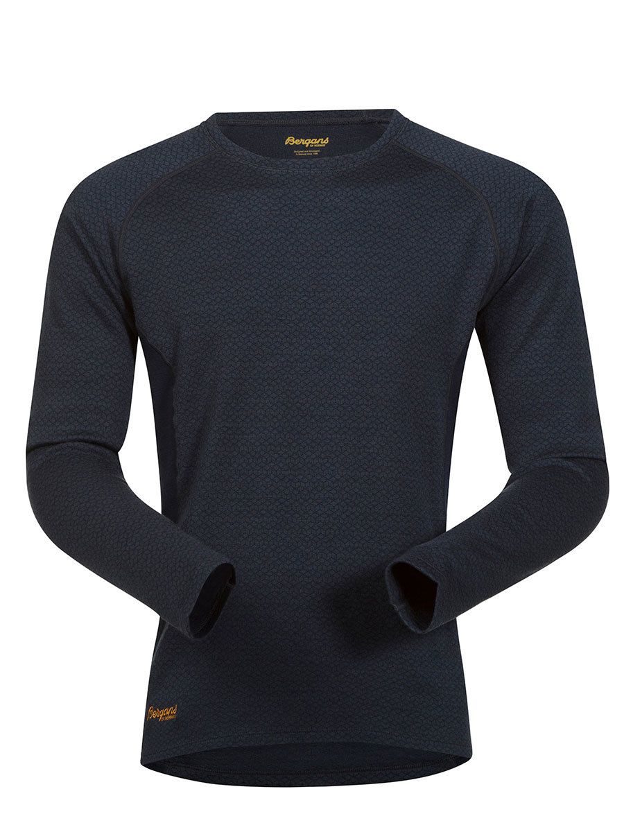 Bergans термобелье футболка 8960 Snoull Shirt  Night Blue