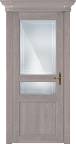 CLASSIC 533 Дуб Серый стекло Грань
