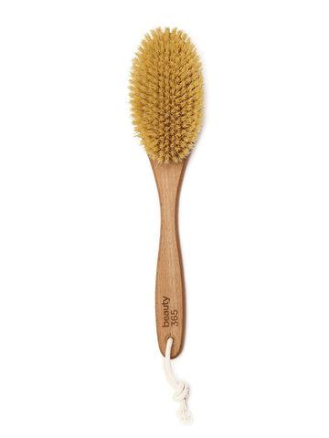 Beauty 365, ЧУДО Щетка для сухого массажа натуральное волокно ЖЕСТКАЯ
