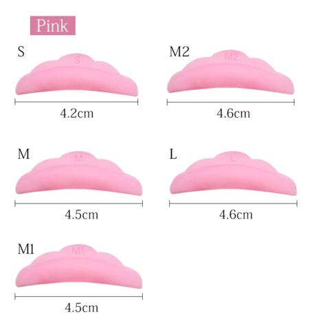 Валики силиконовые розовые
