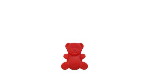 Мини желейный медведь Валера