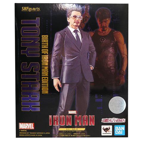 Фигурка S.H.Figuarts Iron Man Tony Stark Birth of Iron Man Edition