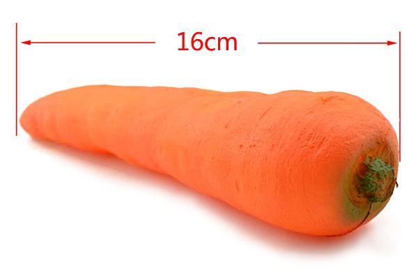 Резиновая морковь для фокусов