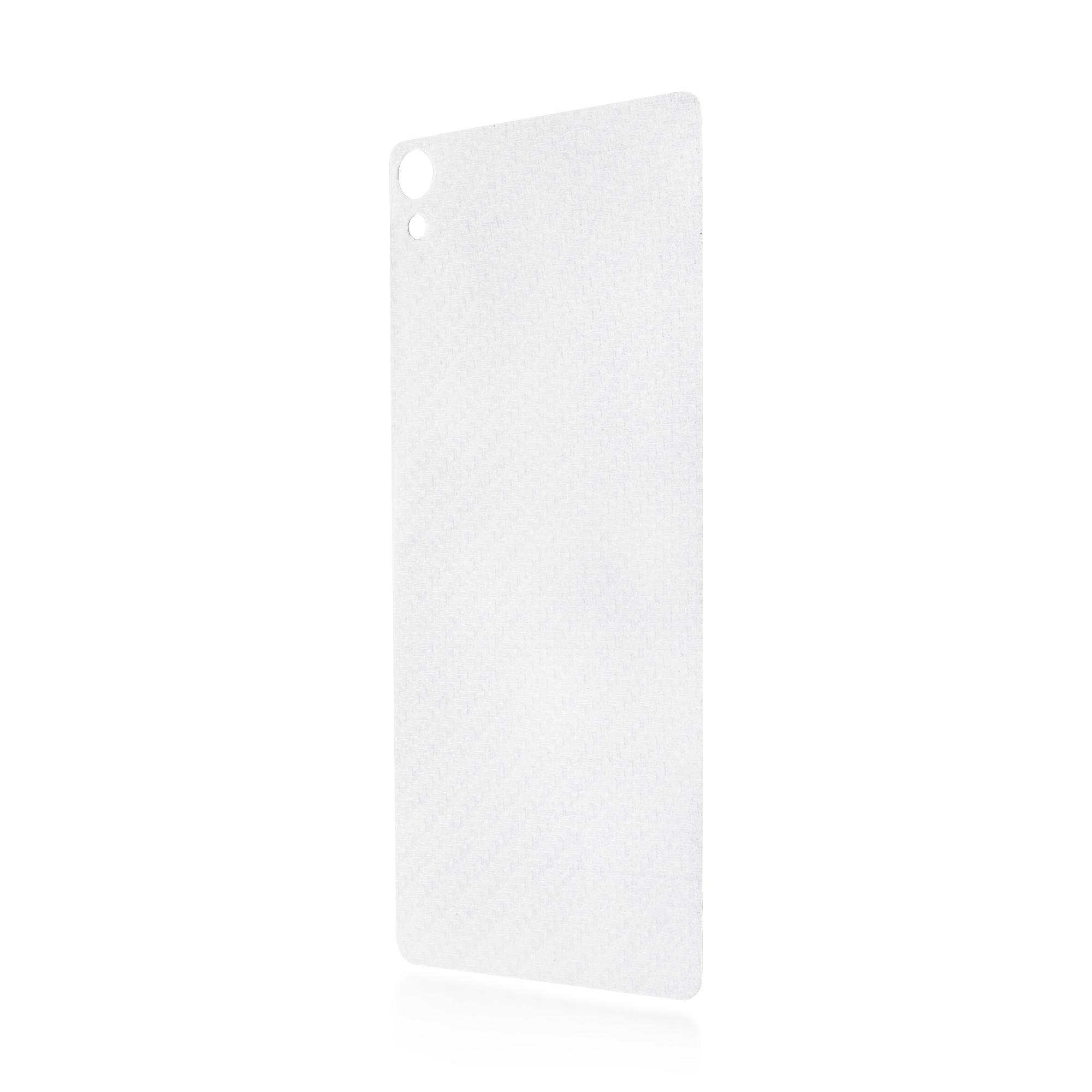 Задняя защитная плёнка для Xperia XA, карбон