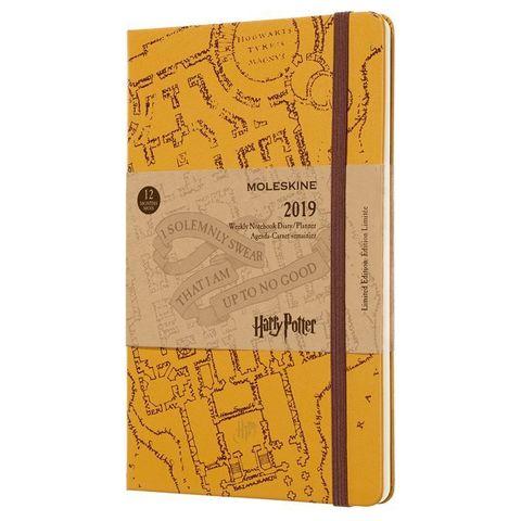 Еженедельник Moleskine Limited Edition HARRY POTTER WKLY Large 130х210мм 144стр. бежевый