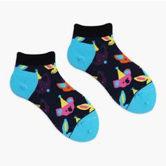 Короткие носки Happy Birthday