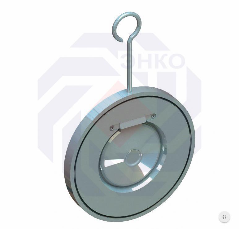 Клапан обратный поворотный T.i.S. C080 DN 100